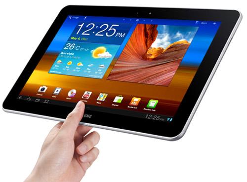 Så här tunn är Samsung Galaxy Tab 10.1
