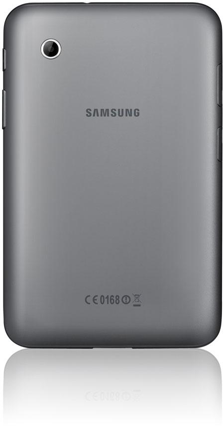 Samsung Galaxy Tab 2 baksida