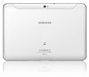Samsung Galaxy Tab 8.9 LTE baksida